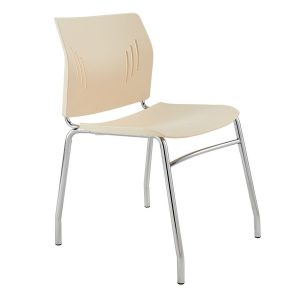 Plastic Stacking Side Chair