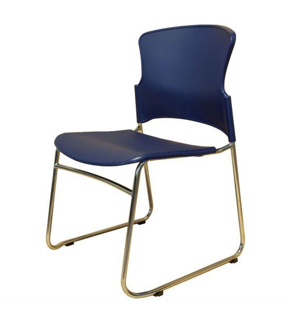 EVA-05C-guest chair-dark blue