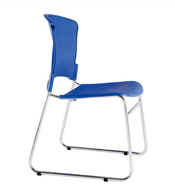 EVA-05C-stacking guest chair-blue