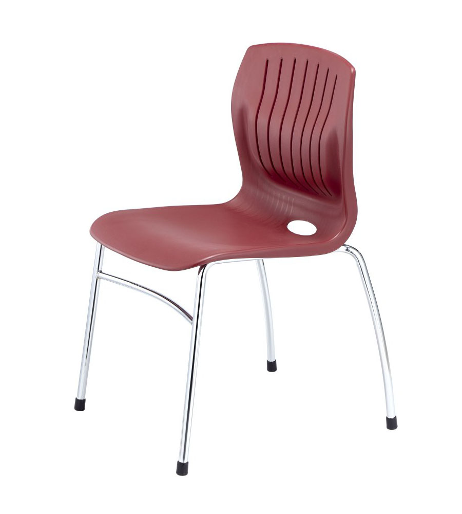 TEC-06C-side chair-Burgundy