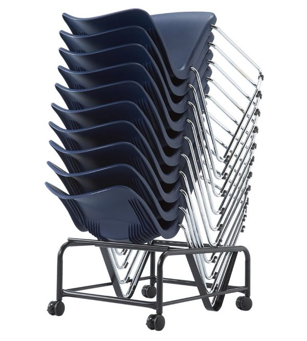 TS-05C-stacking guest chair-on the dolly