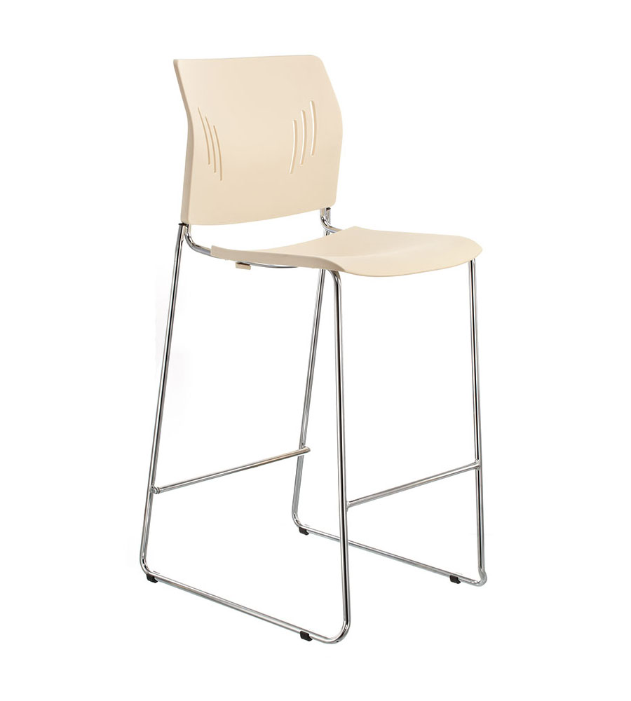 ACE-05HC stool, color: ivory