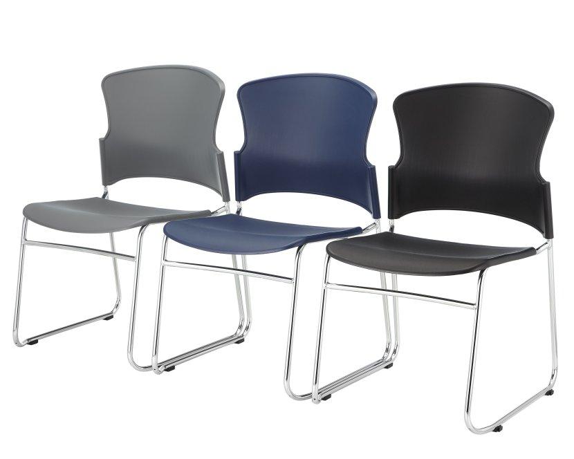 EVA-05C-guest chair-3 row