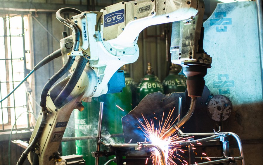 Robotic-automated welding